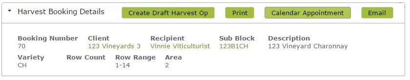 HarvestBookingDetails