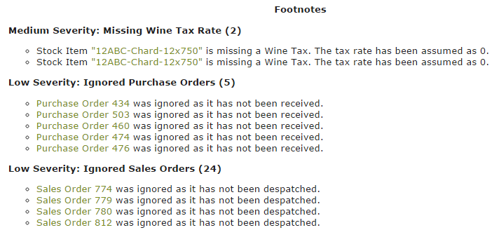 Excise-Footnotes