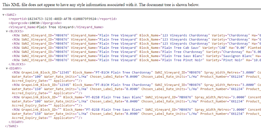 how to search data in xml