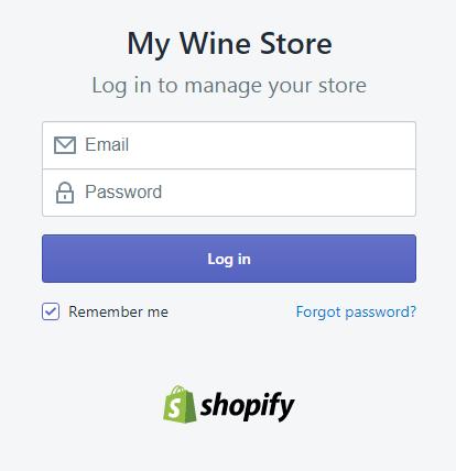 ShopifyLogin