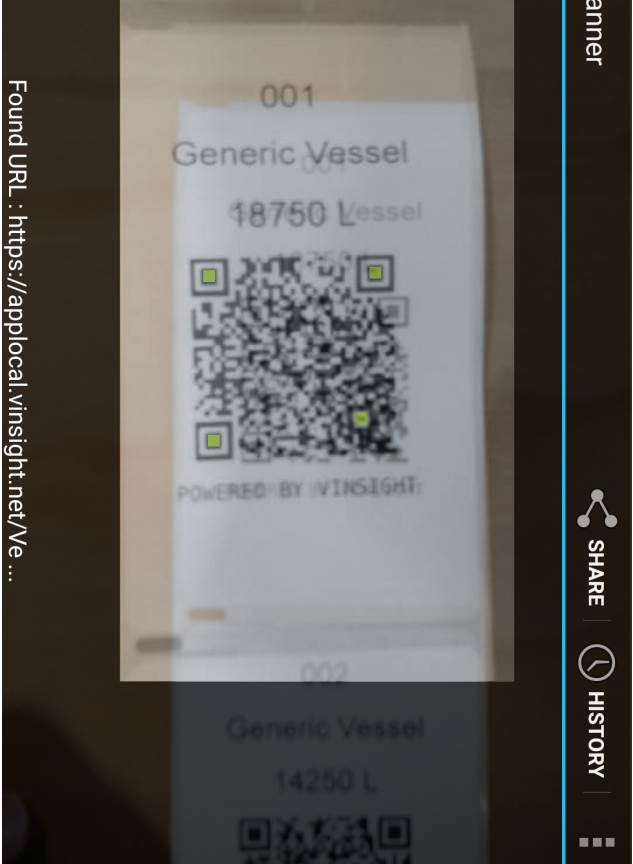 Vinsight Documentation | Barcode and QR Code Scanning In